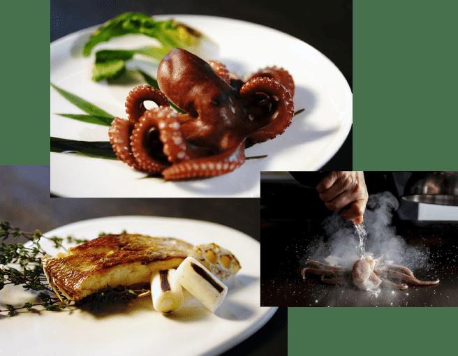 長岡作茂 海鮮料理