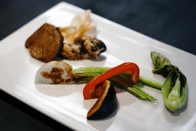 長岡作茂 野菜料理